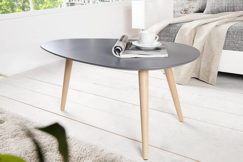 Table basse design Scandinave 75 cm en MDF coloris gris